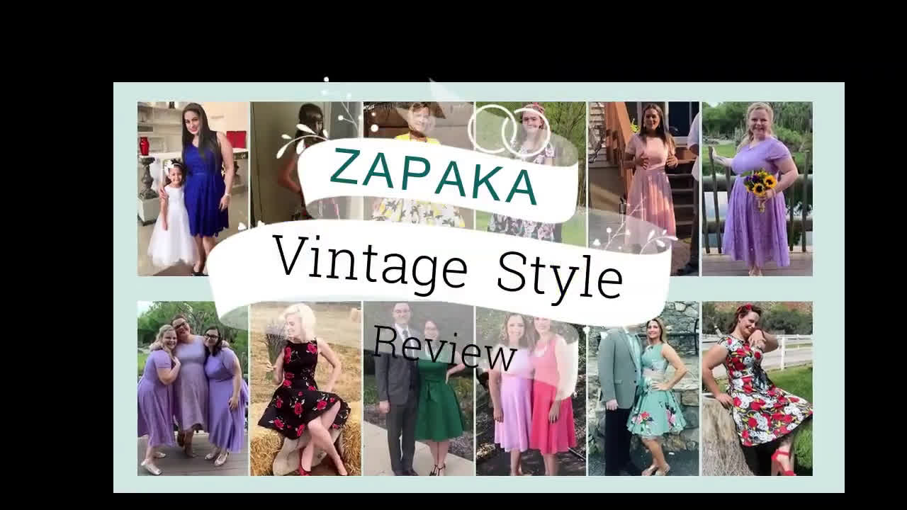 ZAPAKA Retro Style Review Collection - 2020 New Year Sale