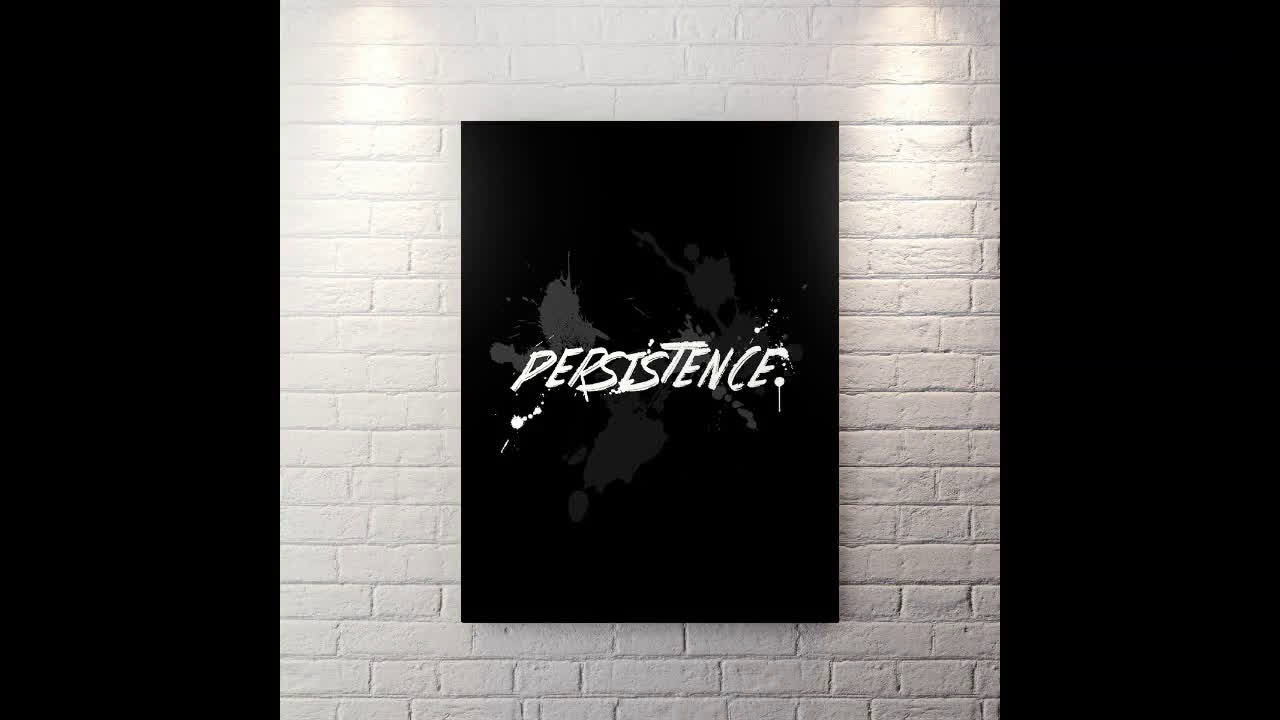 Persistance - Canvas Wall Art