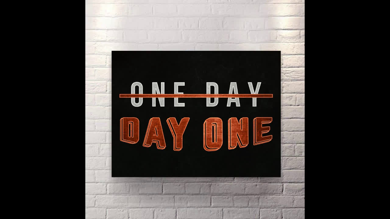 One Day - Canvas Wall Art