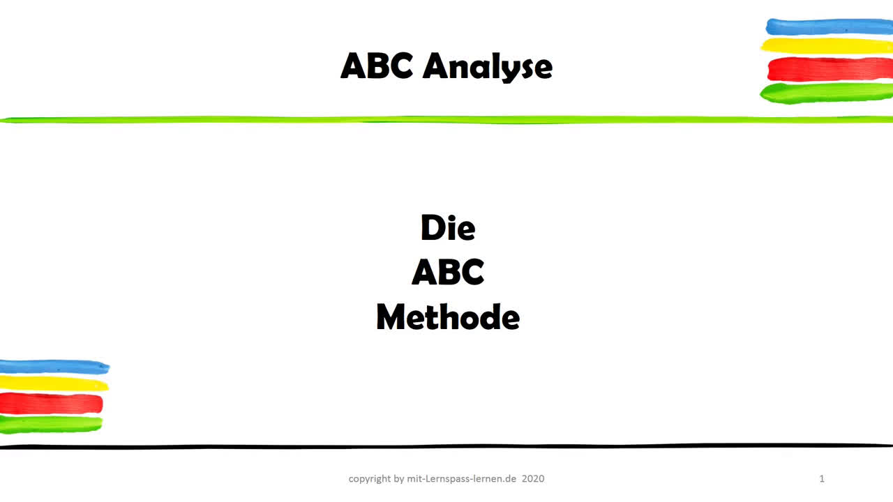 Die ABC Methode
