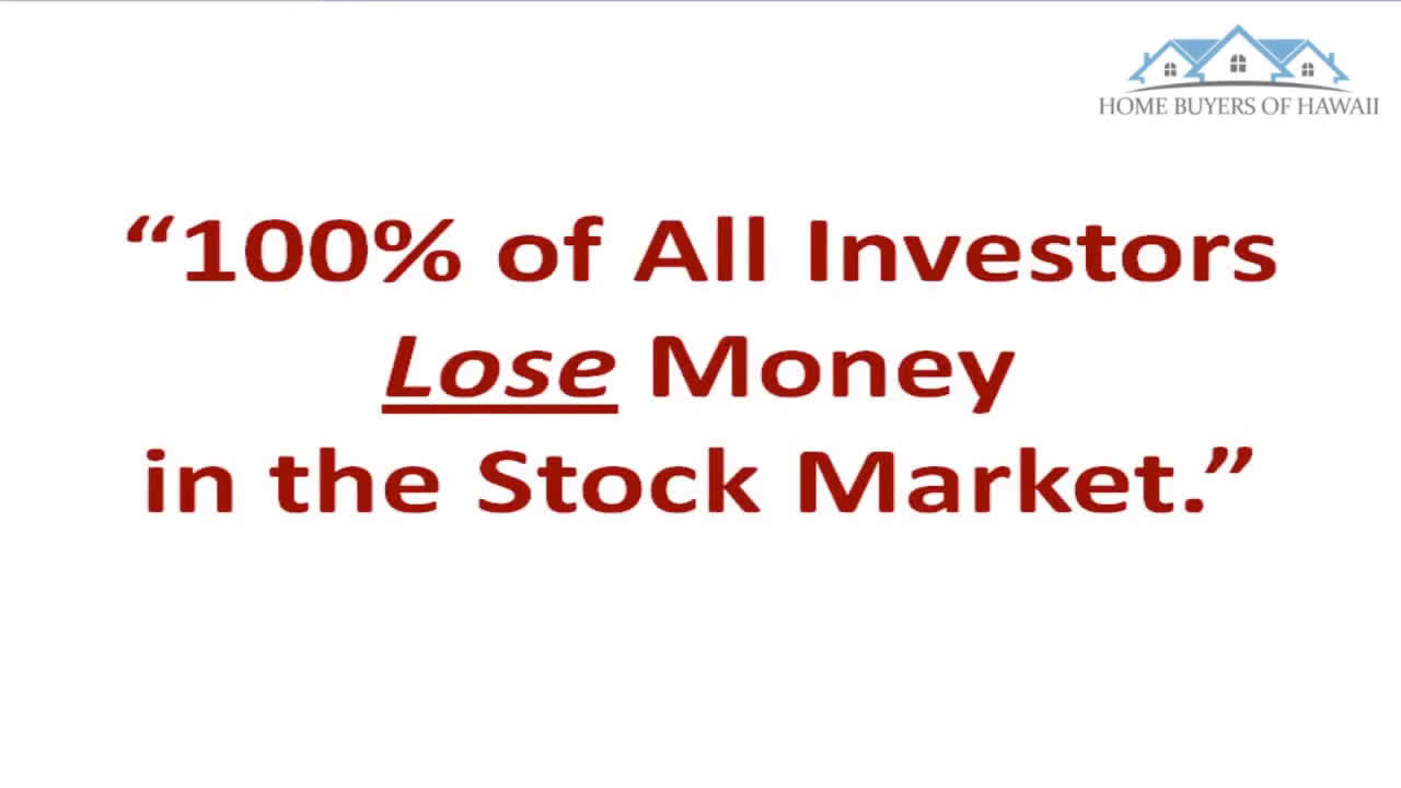 Stock Market Got You Down? Here's A Safe Alternative For You -- FREE Gift