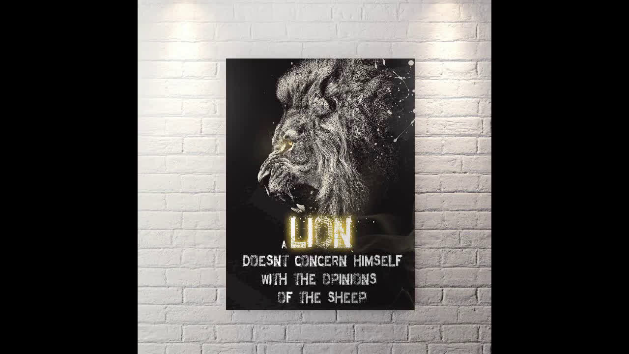 Lion - Canvas Wall Art