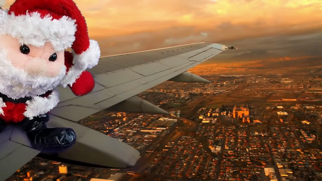 Santa's Flown To Tampa