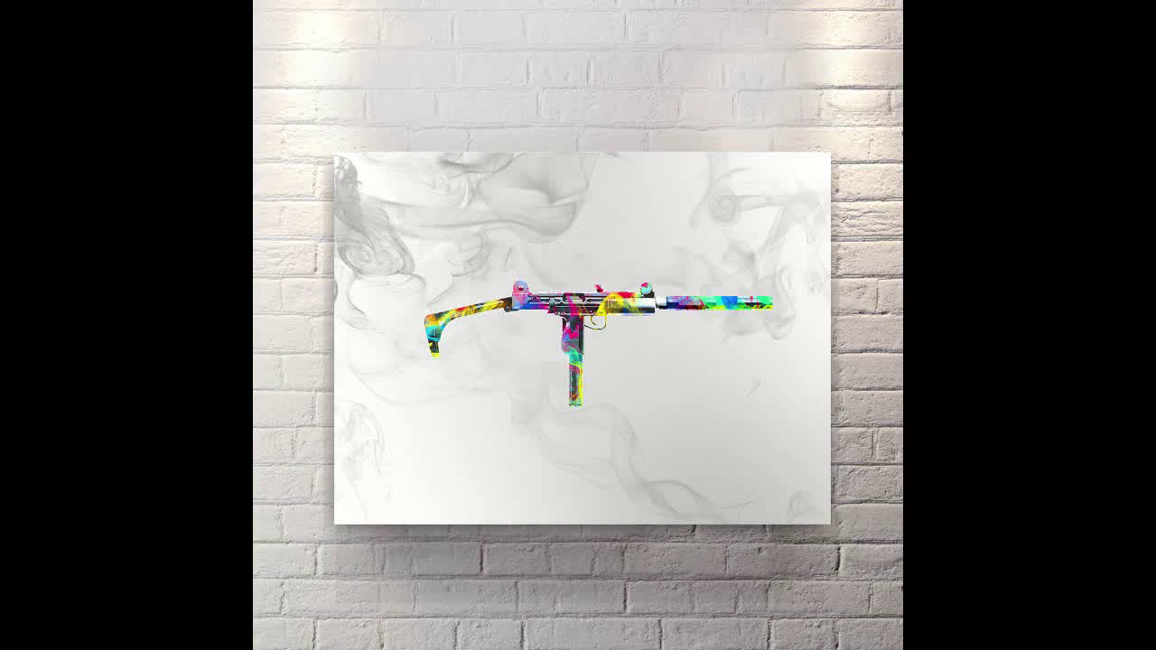 Extended Clip - Canvas Wall Art