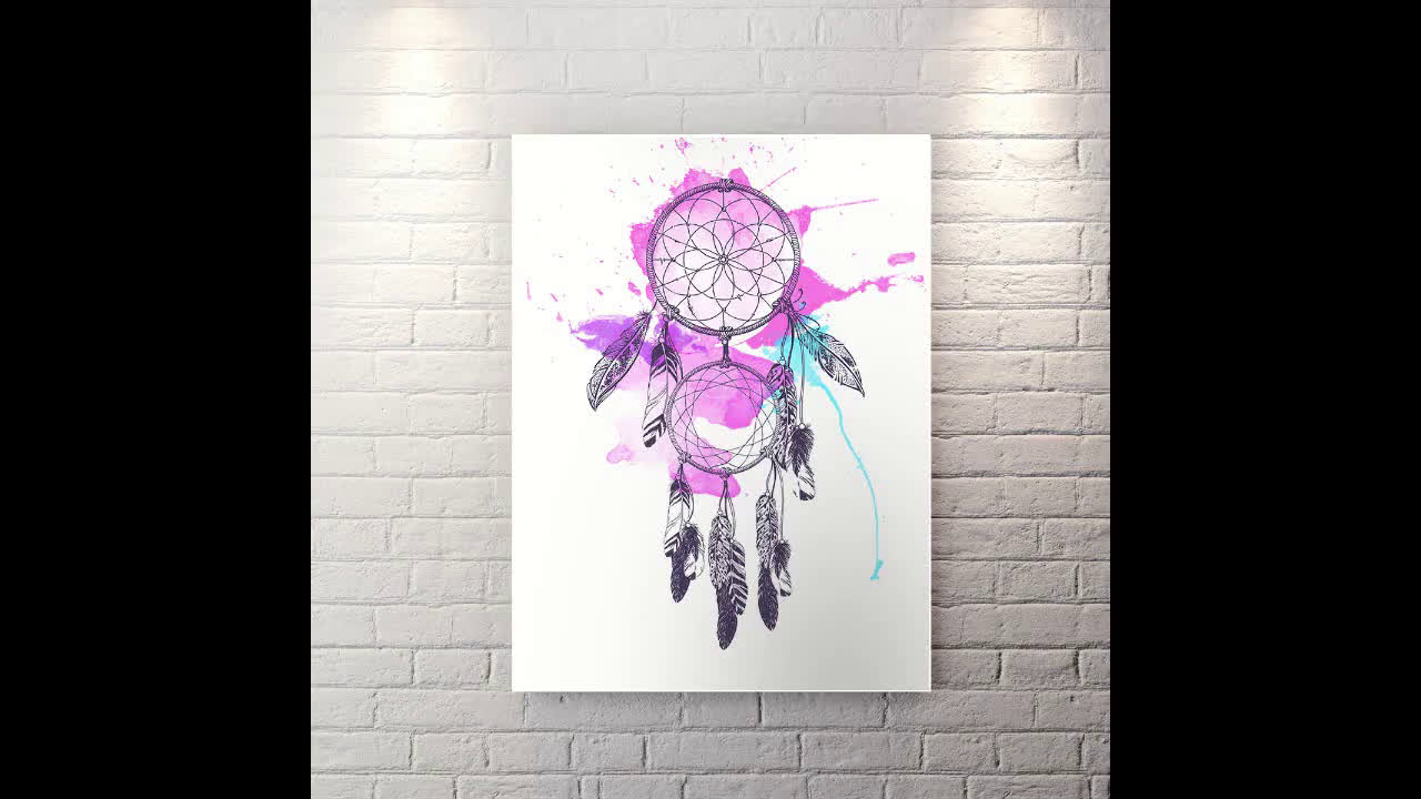 DREAMCATCHER - CANVAS WALL ART