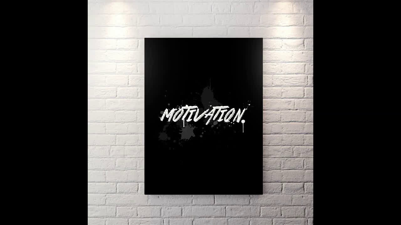 Motivation - Canvas Wall Art