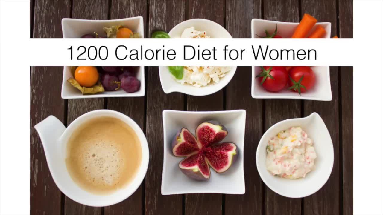 Simple 1200 Calorie Meal Plan for Women: High Energy Weight Loss Diet