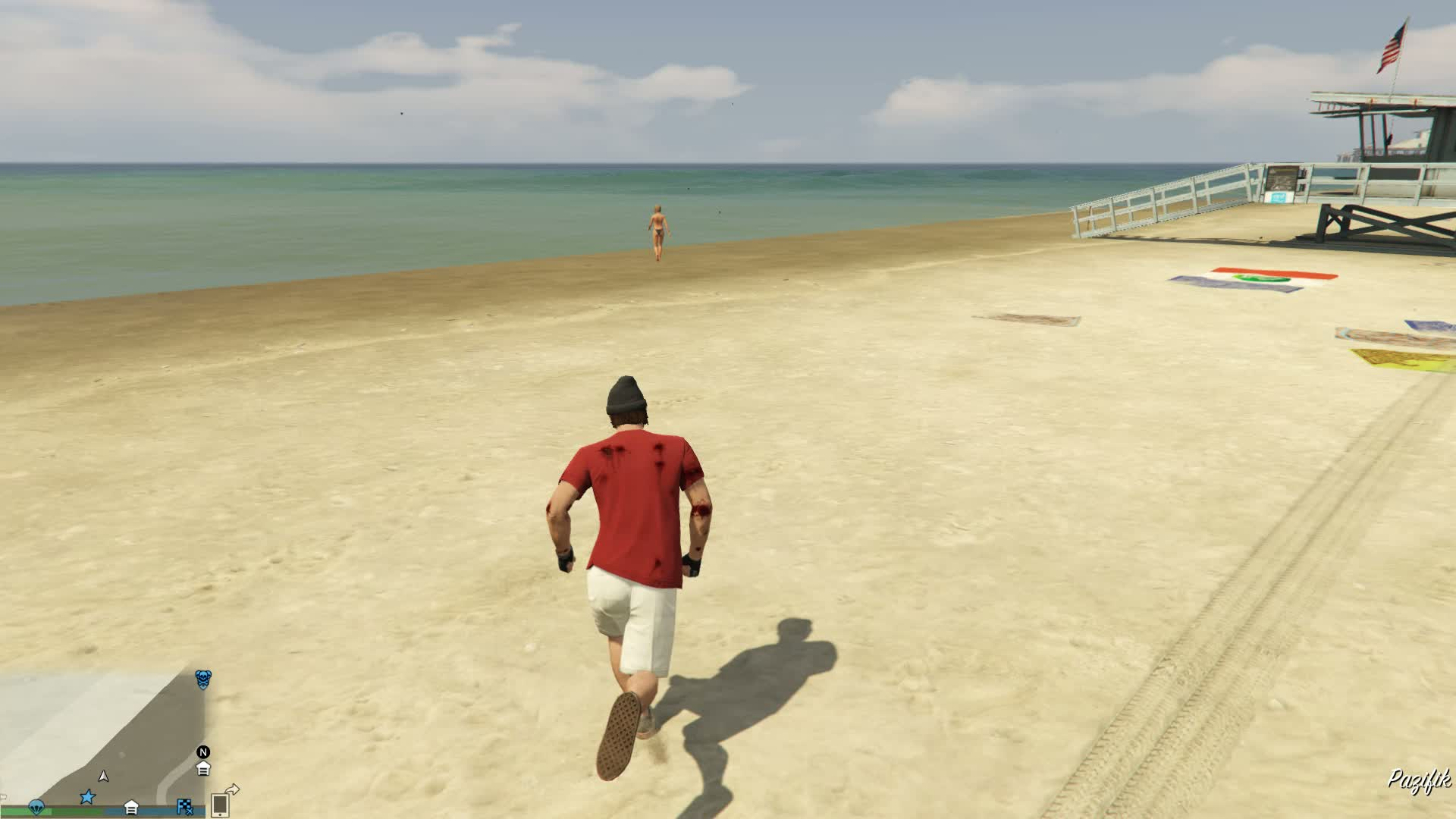 GTA V rnd player killed