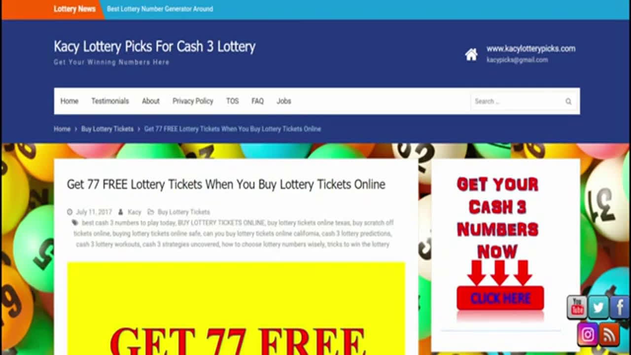 CASH 3 LOTTERY PREDICTIONS NOVEMBER 2019 LOTTERY PREDICTOR & WIN