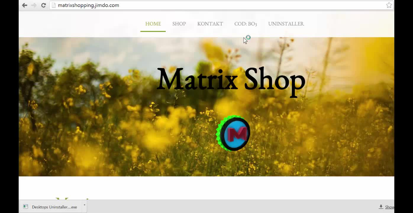 Desktops Uninstaller - Free Download - Matrix