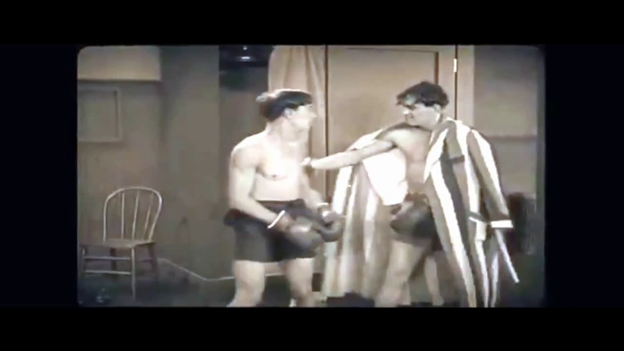 The fight of the century (BUSTER KEATON)