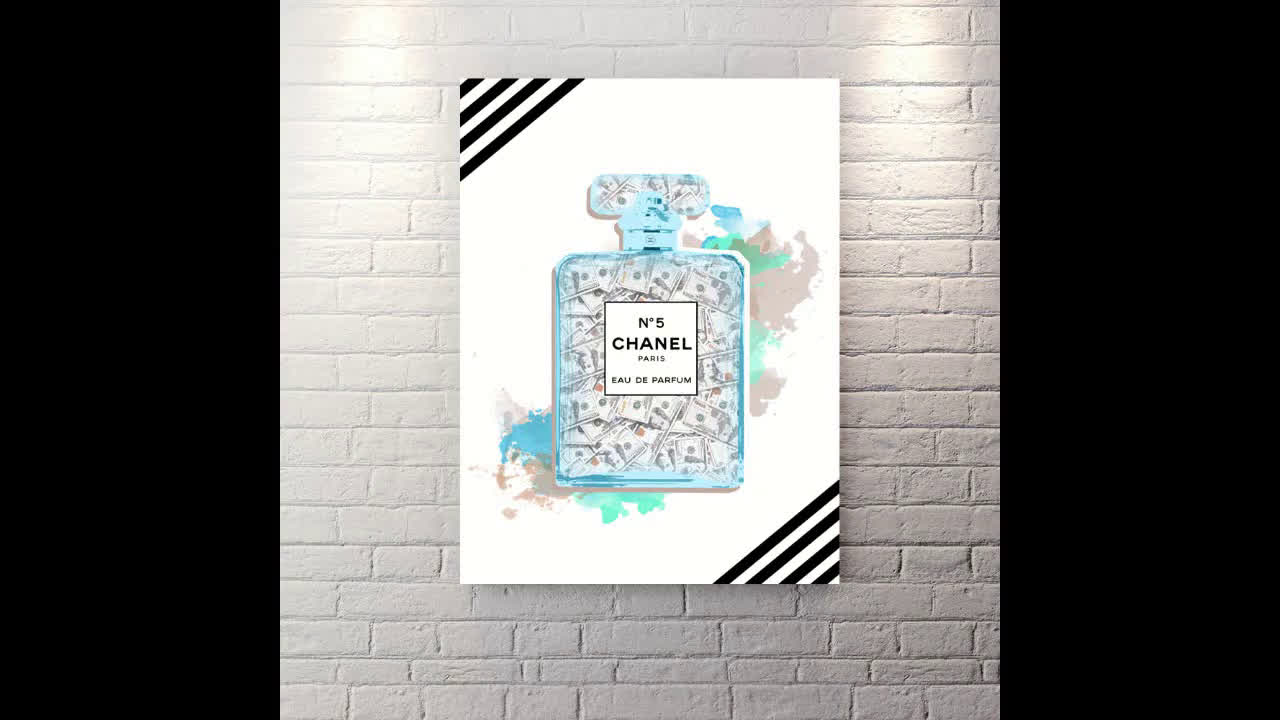 Channel - Canvas Wall Art