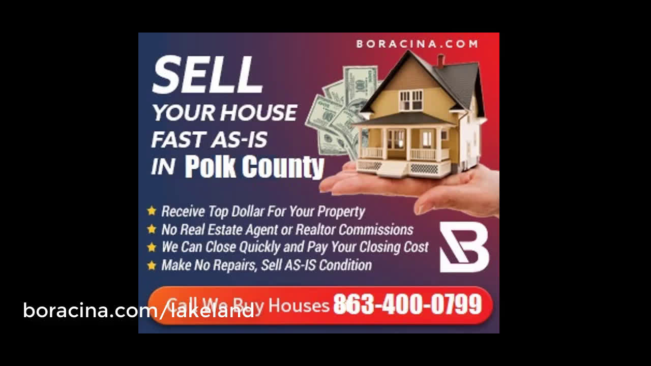 Sell My House Fast Lakeland Florida Boracina Cash Home Buyer