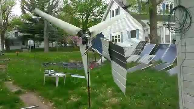 Wind Generator Made from Scraps