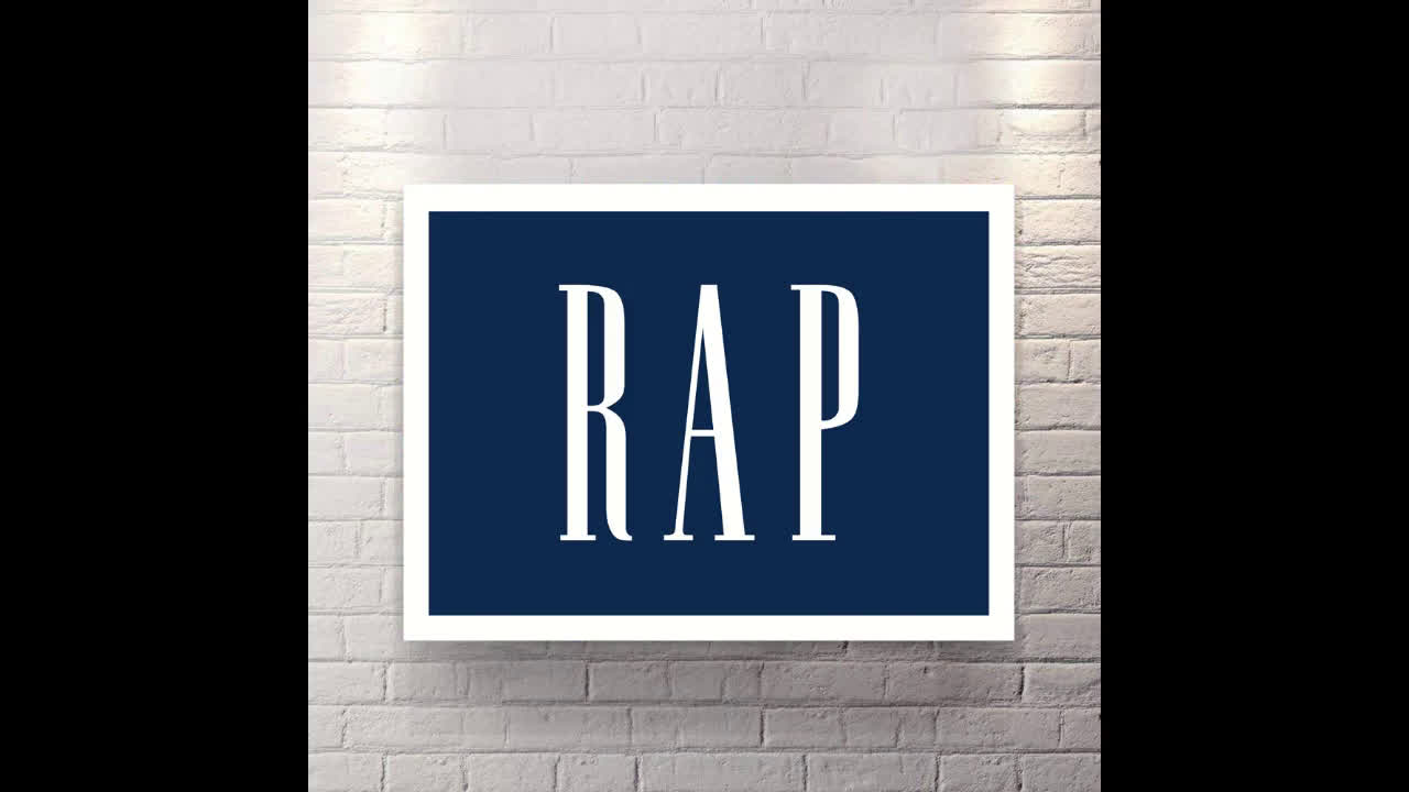 RAP - Canvas Wall Art