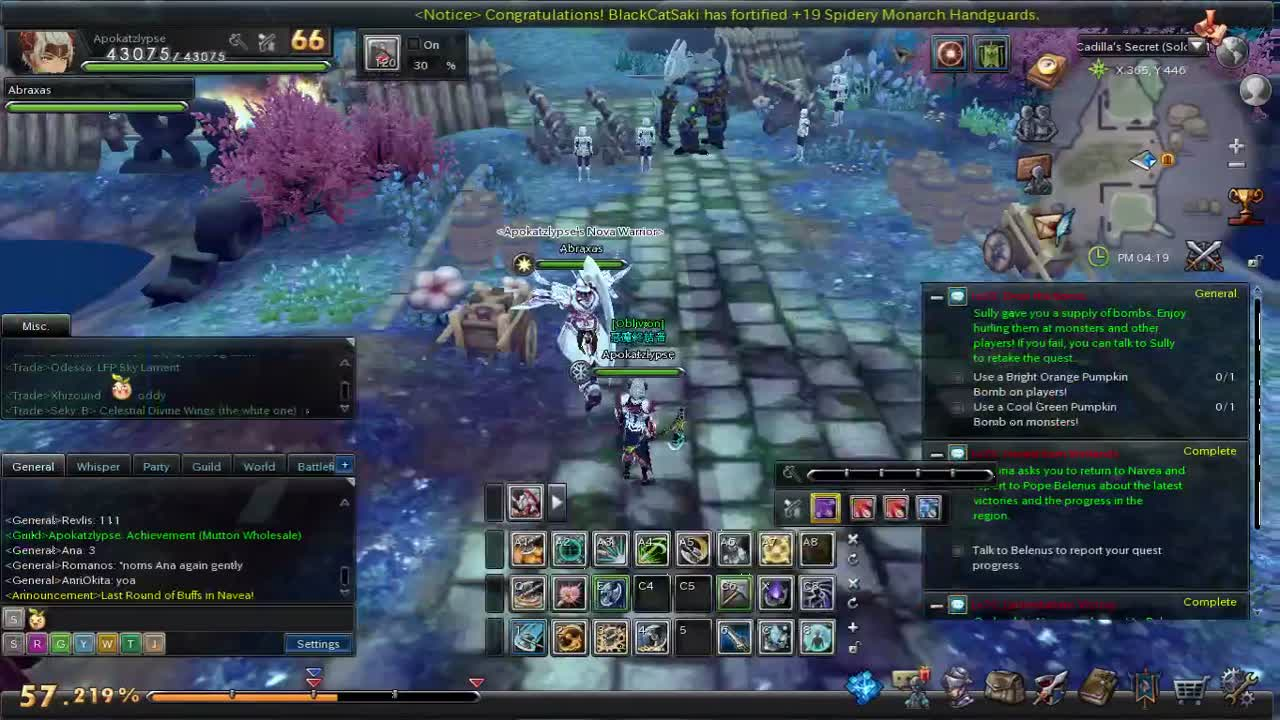 Aura Kingdom Lvl 66 Ini Cadillas Secret