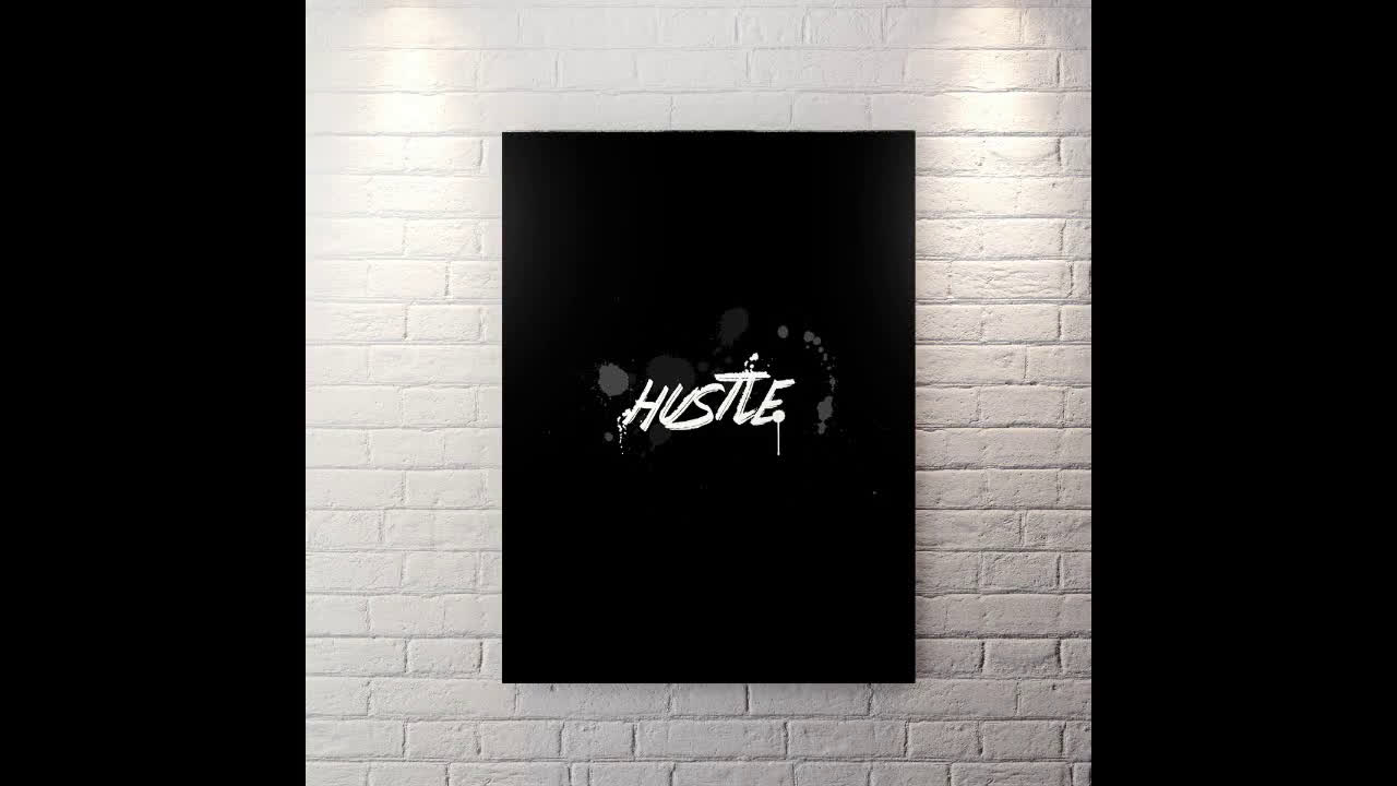 Hustle - Canvas Wall Art