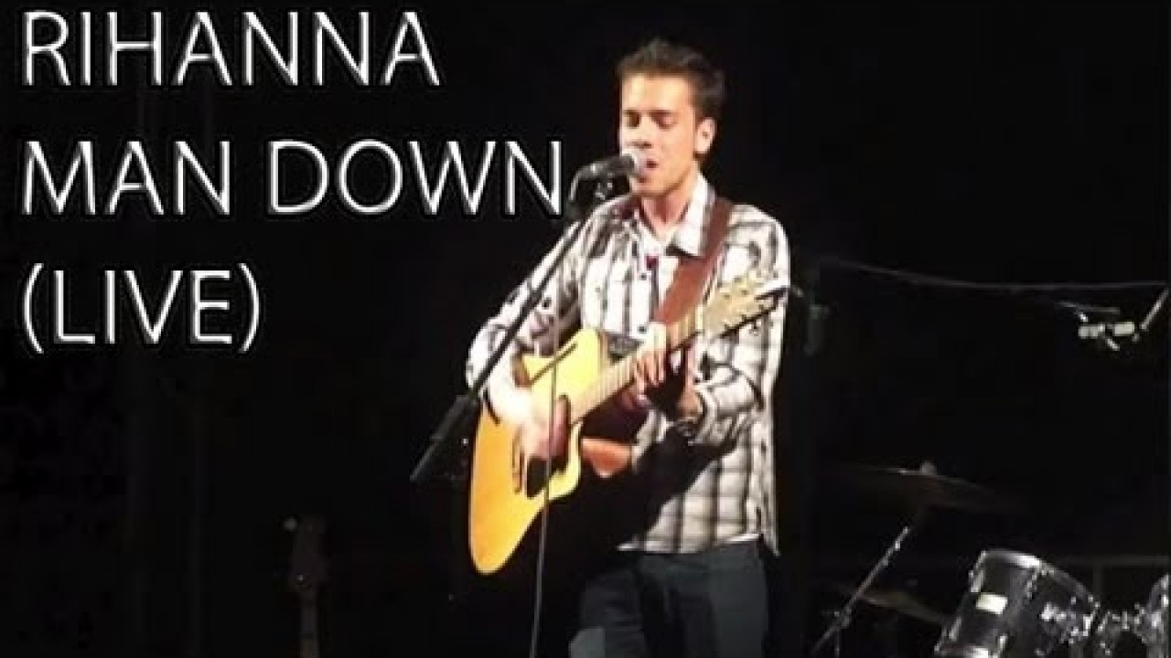 Rihanna - Man down Acoustic Cover Live (AMAZING PERFORMANCE)