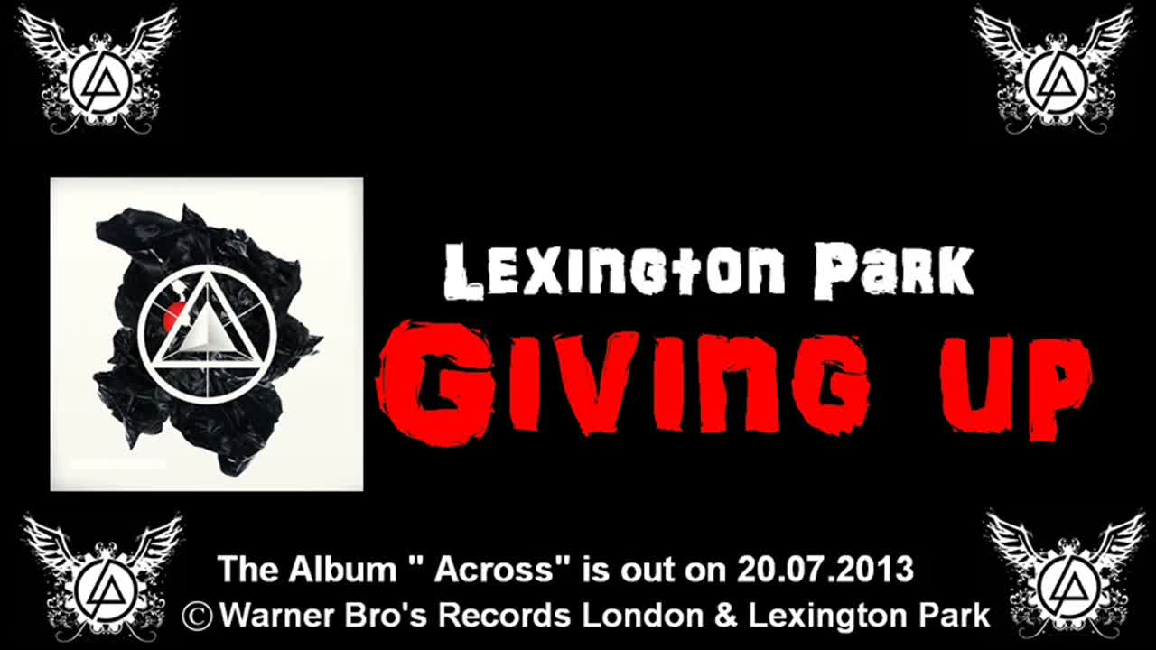 Lexington Park - Giving up
