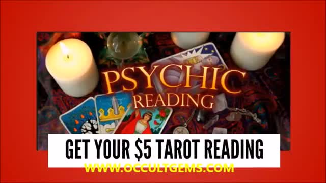GET YOUR $5 TAROT CARD PSYCHIC READING FOR A LIMITED TIME